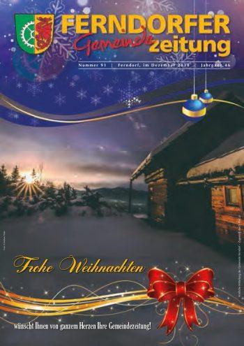 Gemeindezeitung Nr. 91 - Jahrgang 46