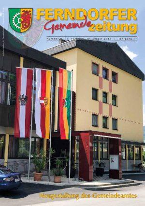 Gemeindezeitung Nr. 93 – Jahrgang 47