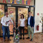 Neues Reinigungsgerät für Volksschule und Kindergarten