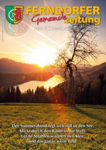 Gemeindezeitung Nr. 96 - Jahrgang 48